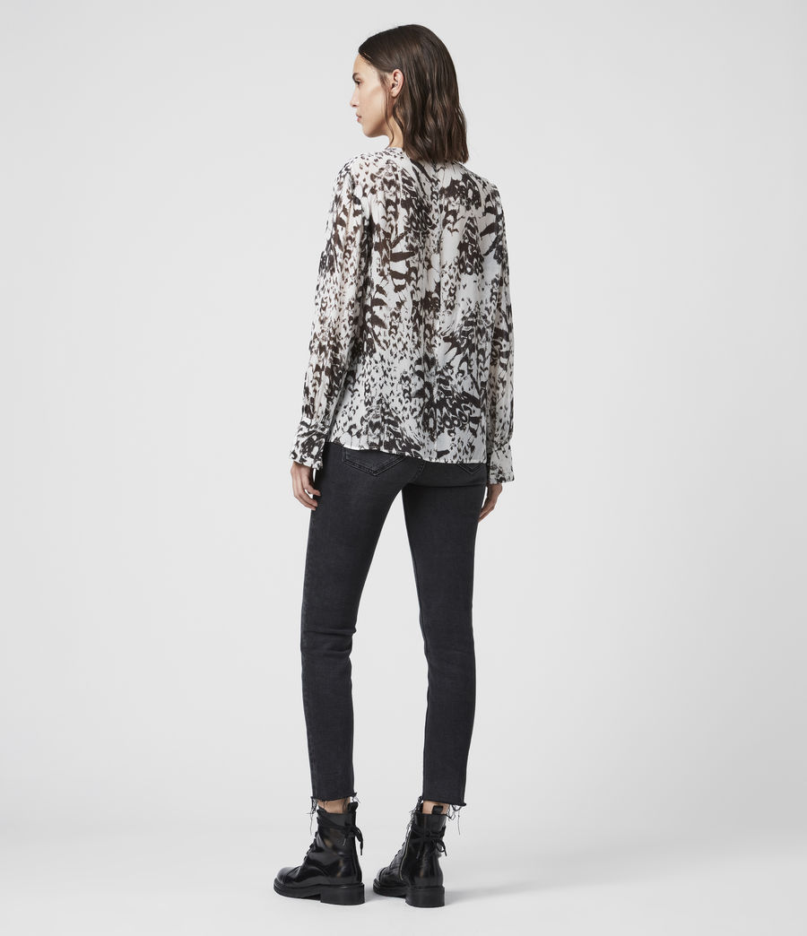 Damen Sheril Wing Top (chalk_white) - Image 5