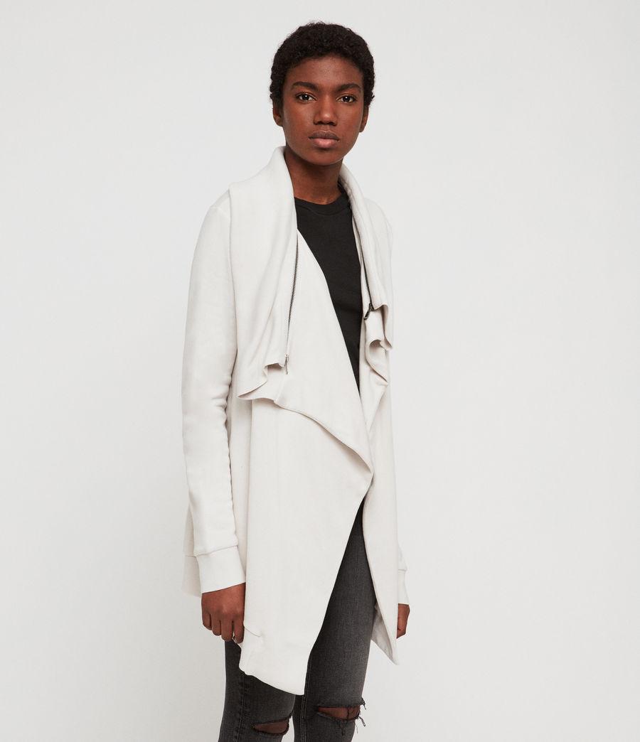 Women's Dahlia Sweatshirt (ivory_white) - Image 3