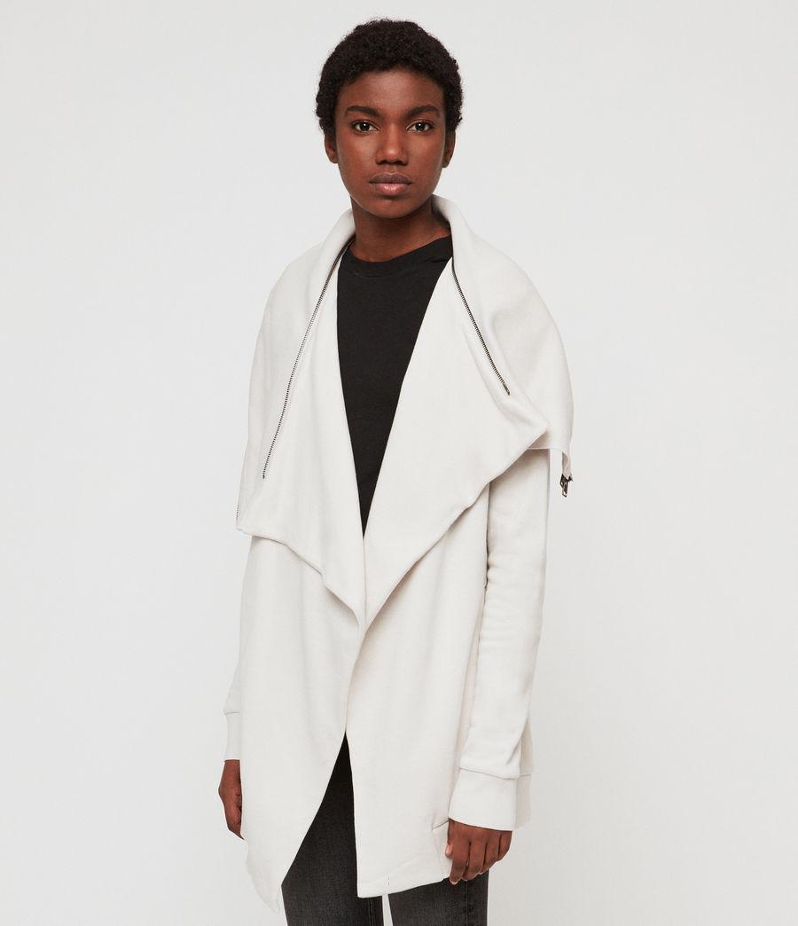 Women's Dahlia Sweatshirt (ivory_white) - Image 4