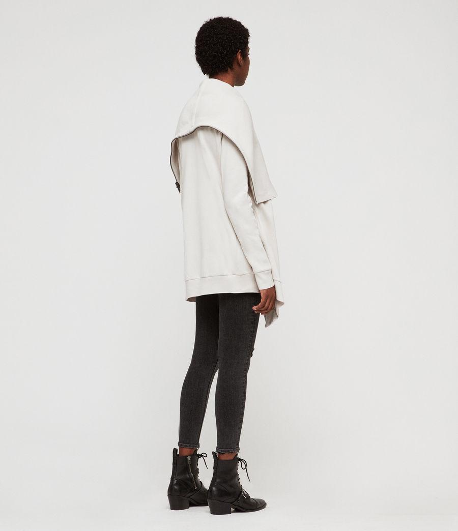 Women's Dahlia Sweatshirt (ivory_white) - Image 5