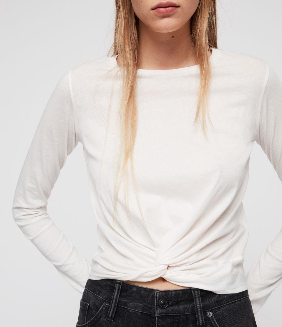 Mujer Camiseta Carme (vintage_white) - Image 4