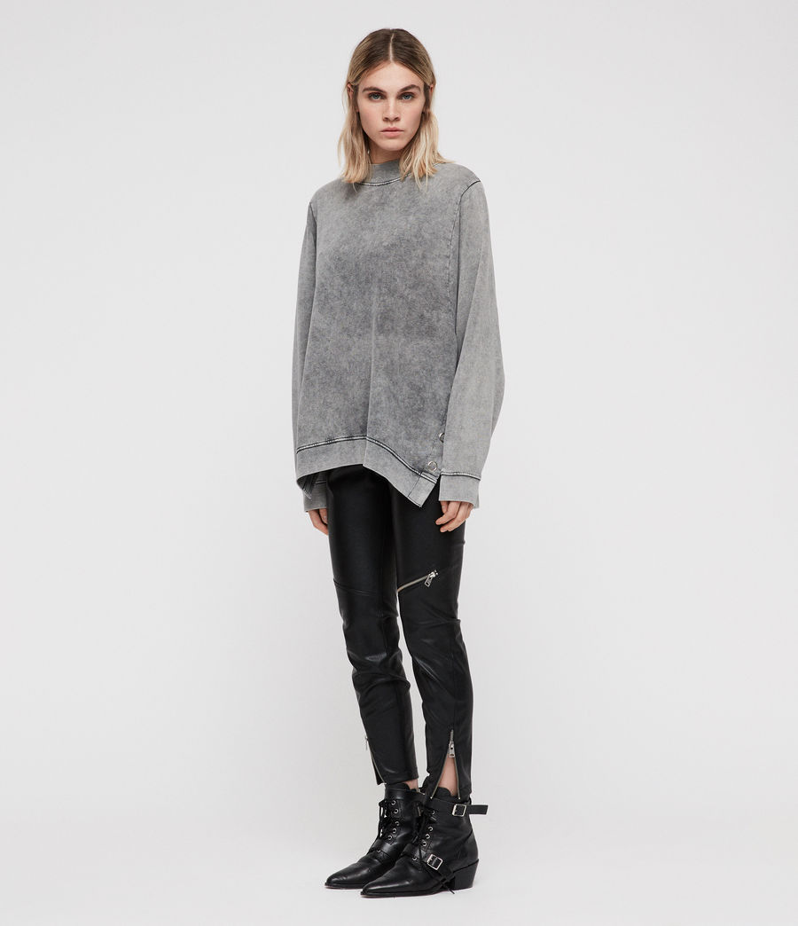 Women's Leti Freida Sweatshirt (light_grey) - Image 1