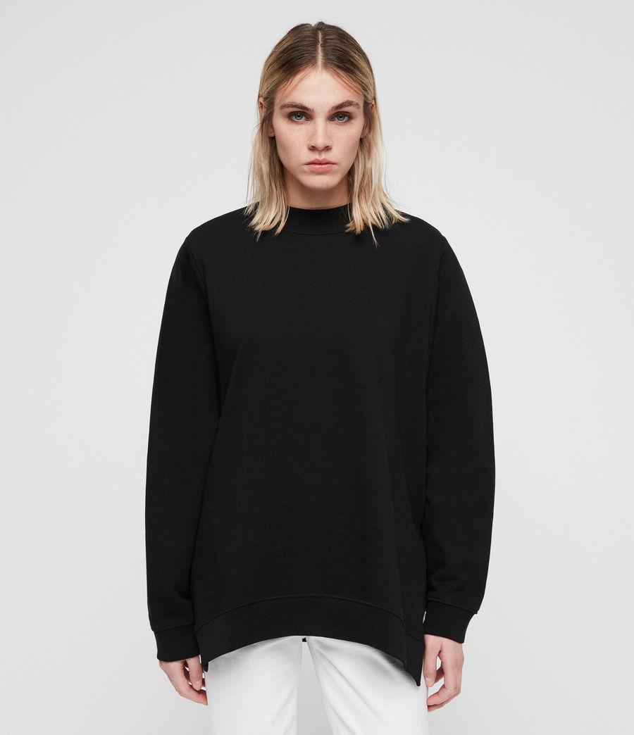 Women's Leti Freida Sweatshirt (jet_black) - Image 1