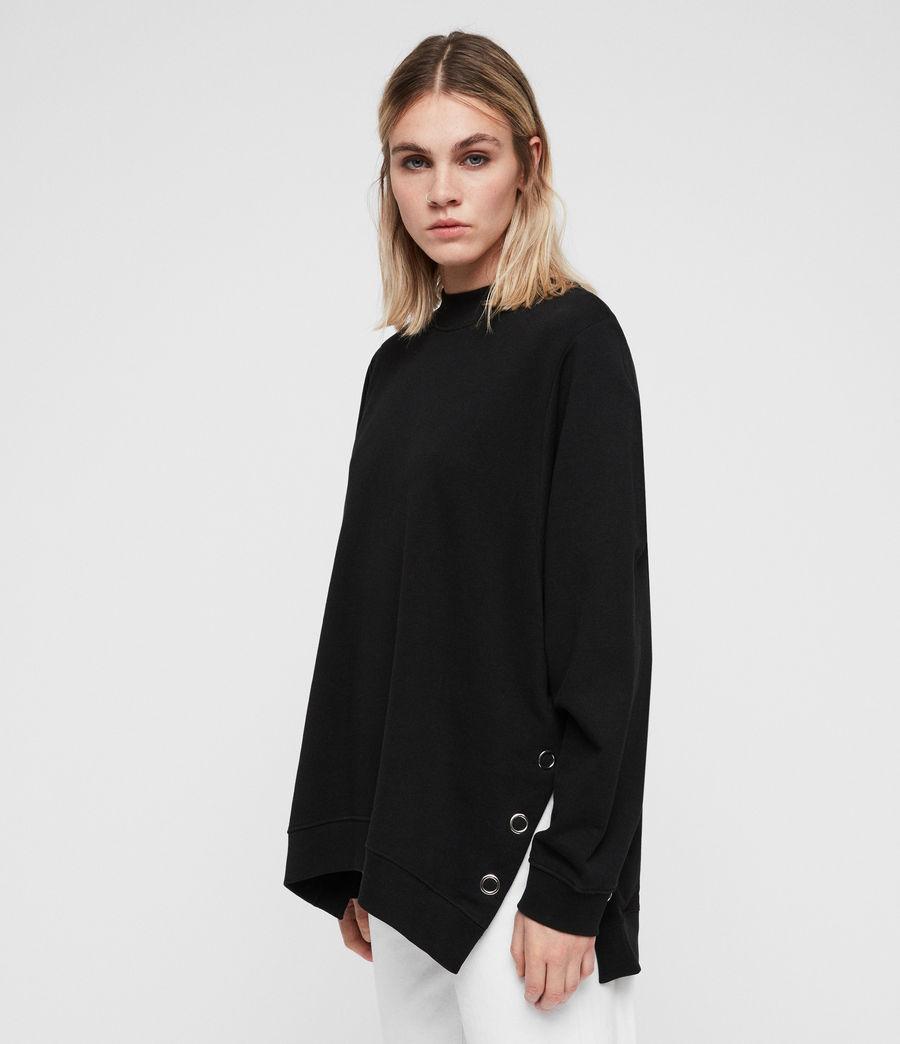 Women's Leti Freida Sweatshirt (jet_black) - Image 4