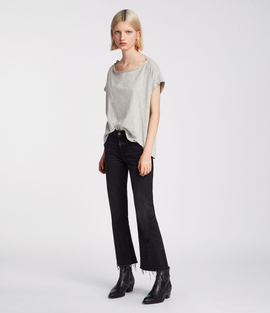 Womens Pina Fifi T-Shirt (grey_marl) - Image 1