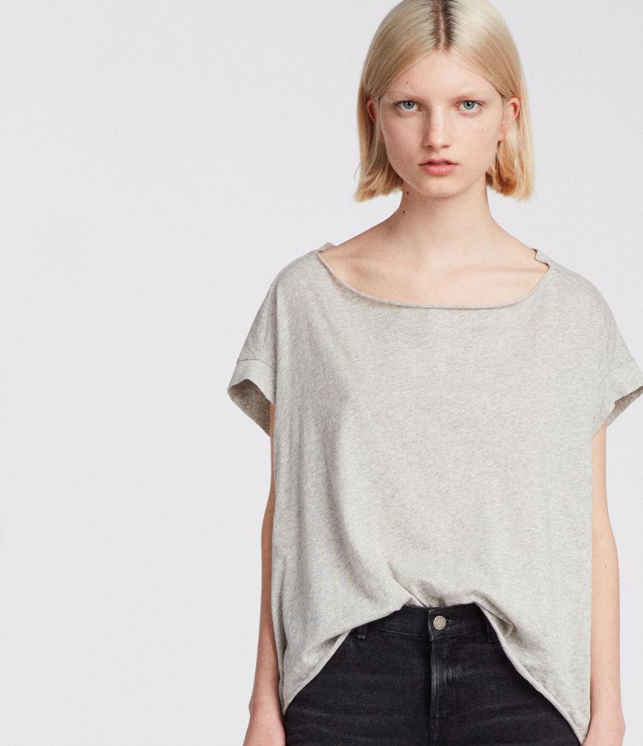 Womens Pina Fifi T-Shirt (grey_marl) - Image 2