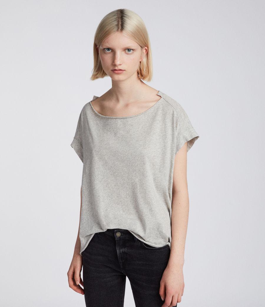 Womens Pina Fifi T-Shirt (grey_marl) - Image 3