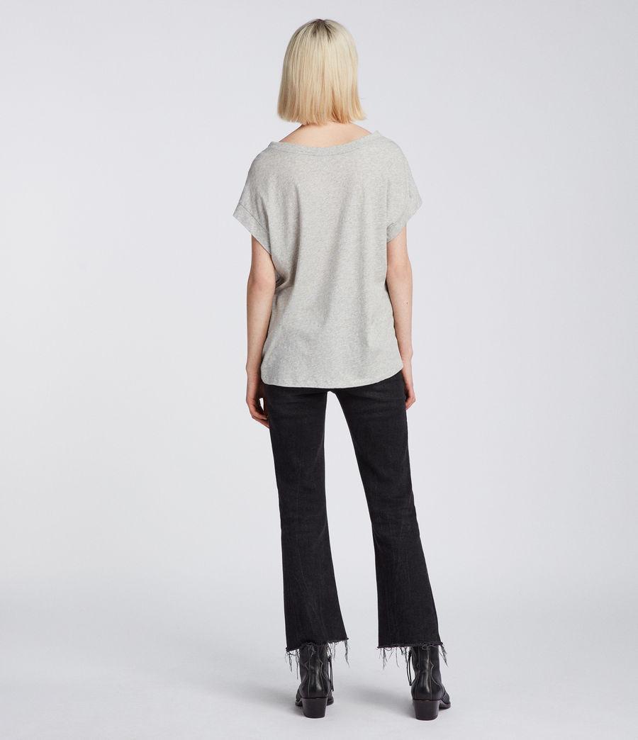 Womens Pina Fifi T-Shirt (grey_marl) - Image 4