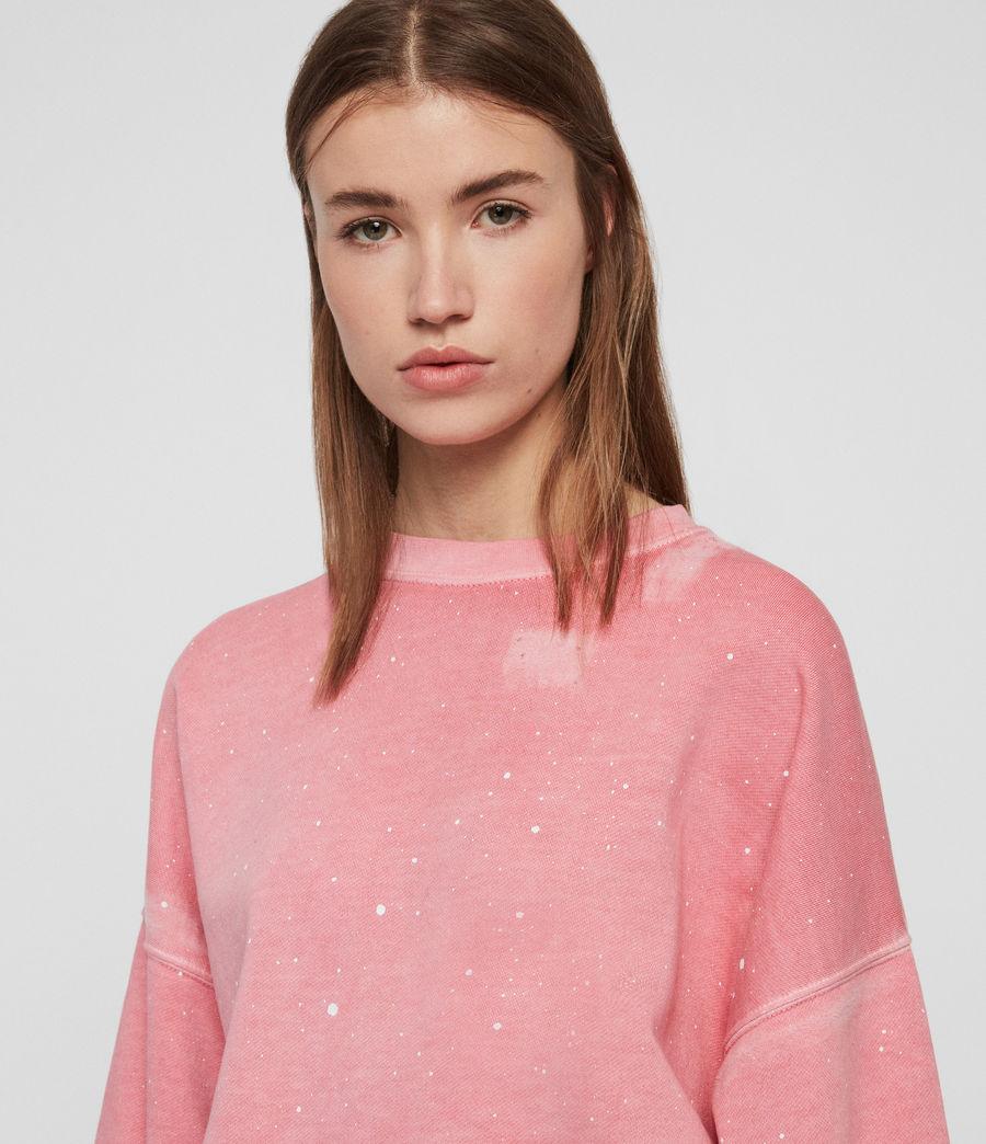 Mujer Sudadera Storn Splatter (pink) - Image 2
