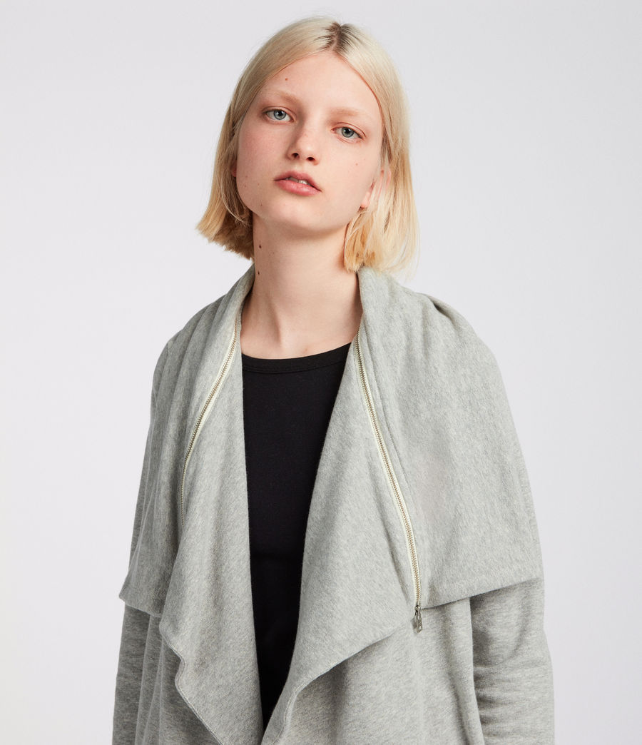Womens Mila Dahlia Sweat (grey_marl) - Image 3