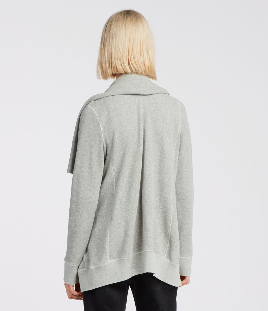 Womens Mila Dahlia Sweat (grey_marl) - Image 4