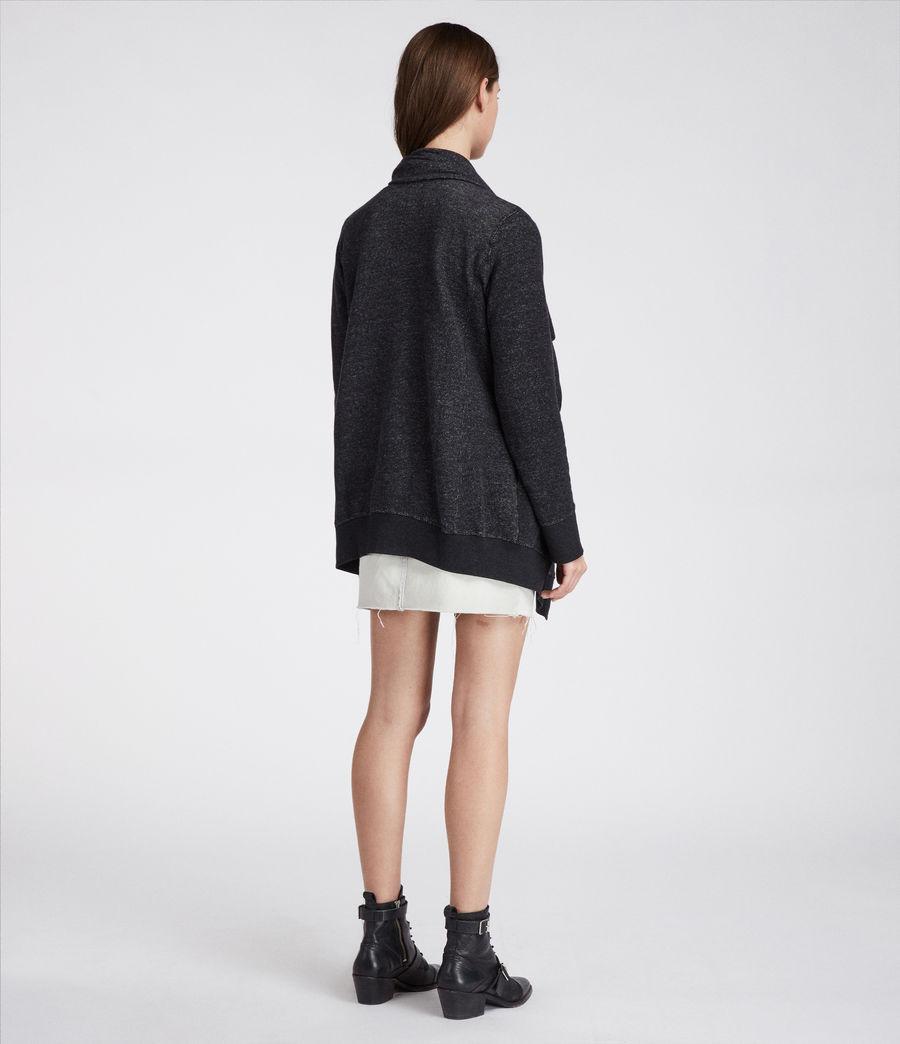 Womens Mila Dahlia Sweatshirt (black_marl) - Image 6