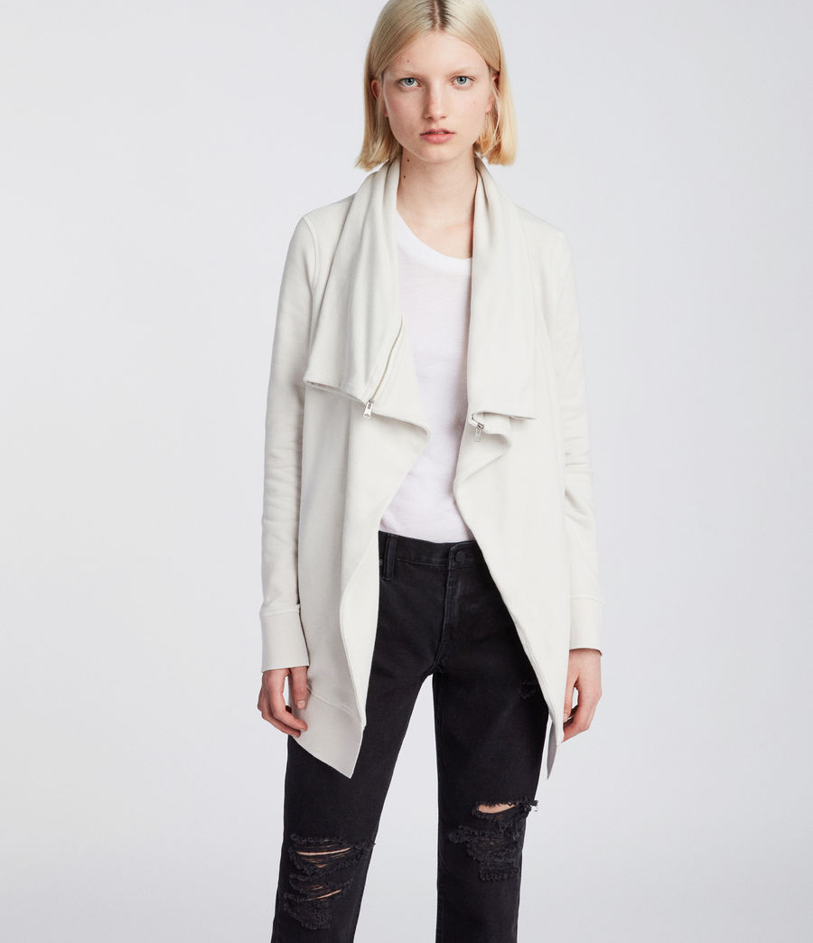 Womens Mila Dahlia Sweat (ivory_white) - Image 3