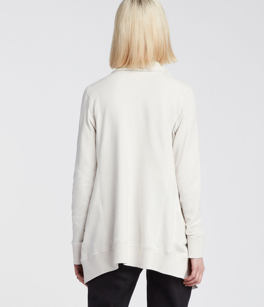 Womens Mila Dahlia Sweat (ivory_white) - Image 4