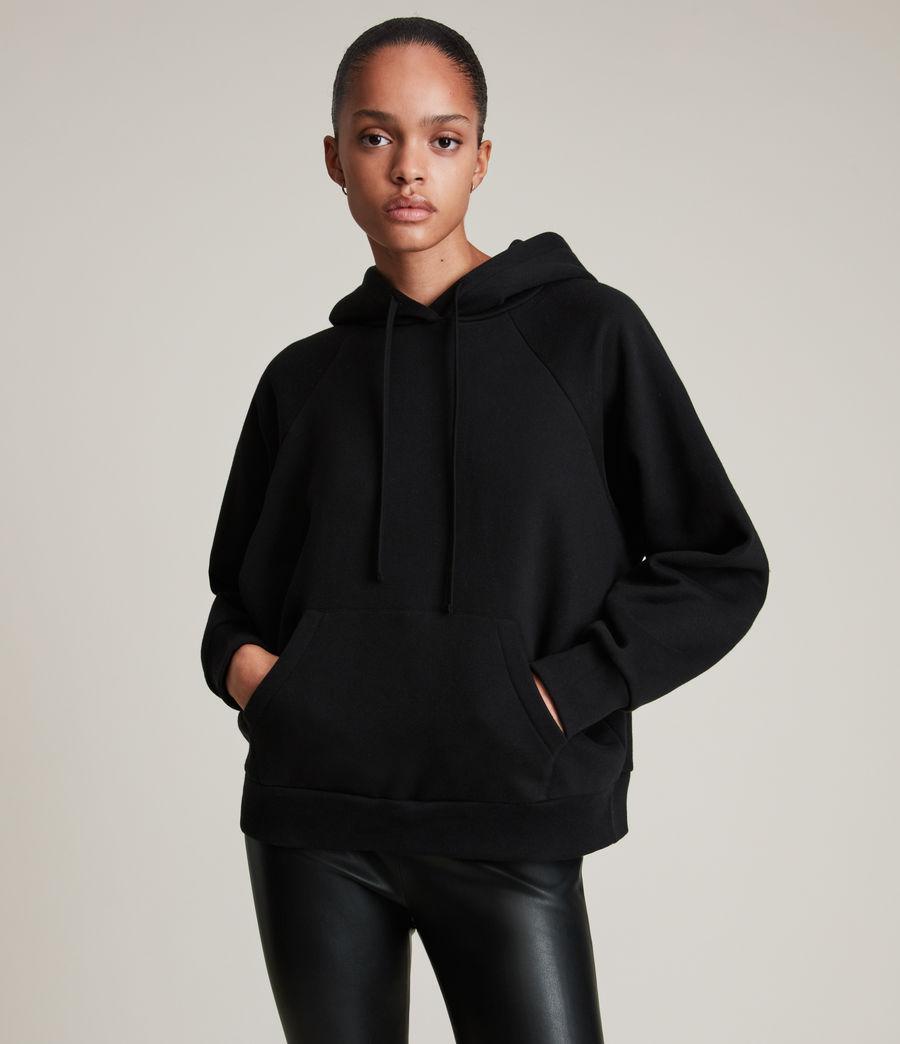 Mujer Sudadera con Capucha Talon AllSaints (black) - Image 2