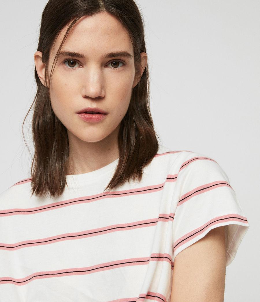 Donne T-Shirt Carme Stripe (pink_chalk_white) - Image 2