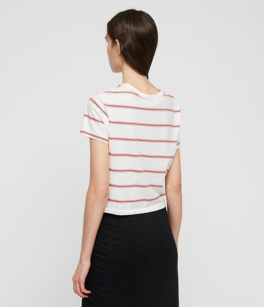 Donne T-Shirt Carme Stripe (pink_chalk_white) - Image 4