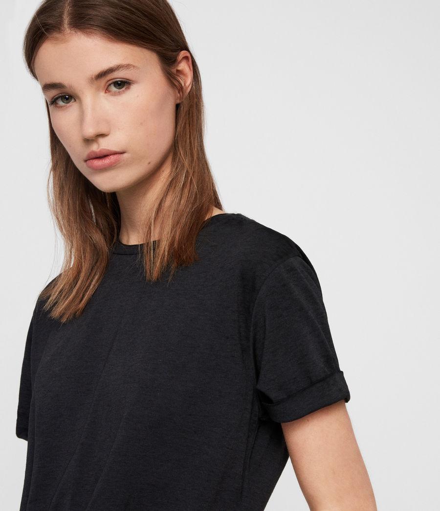 Women's Carme Devo T-Shirt (dark_night_blue) - Image 2