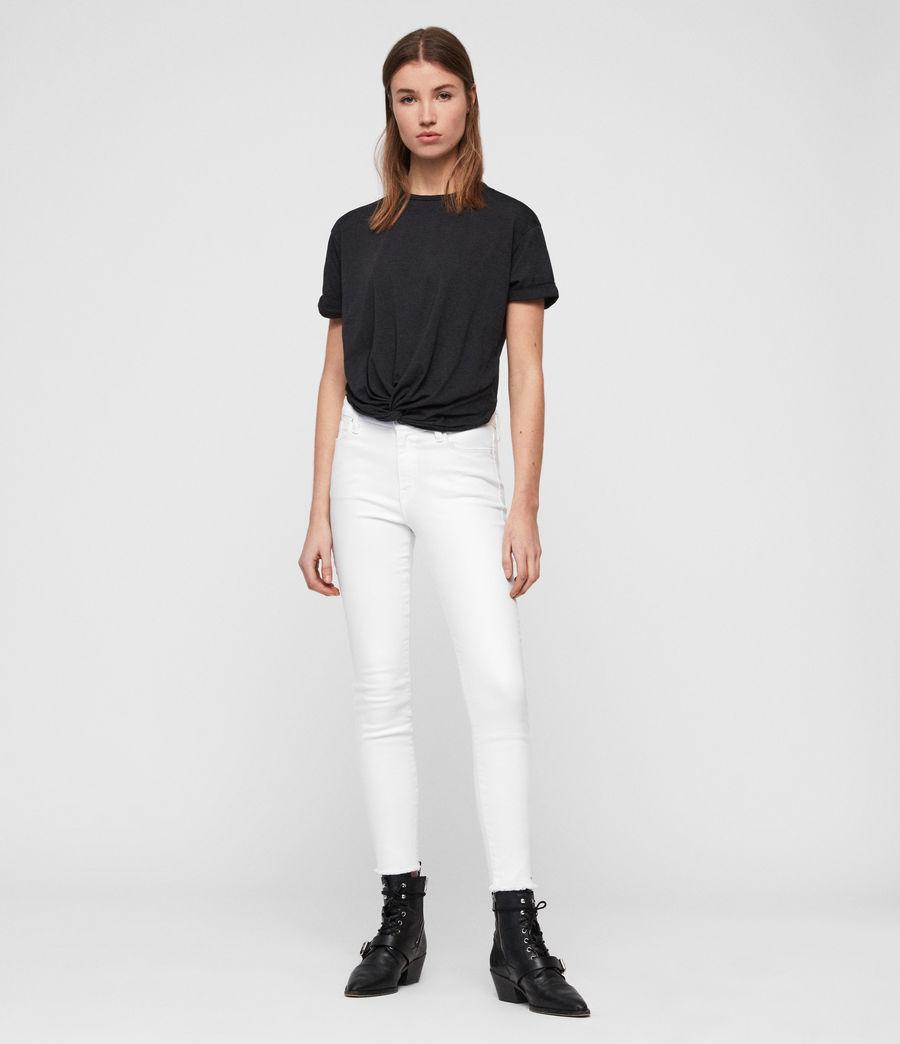 Women's Carme Devo T-Shirt (dark_night_blue) - Image 3