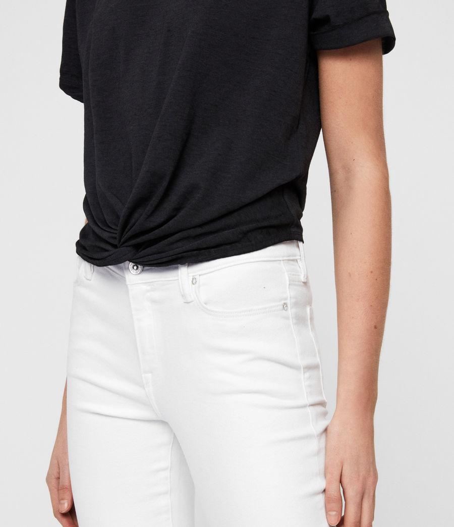 Women's Carme Devo T-Shirt (dark_night_blue) - Image 4