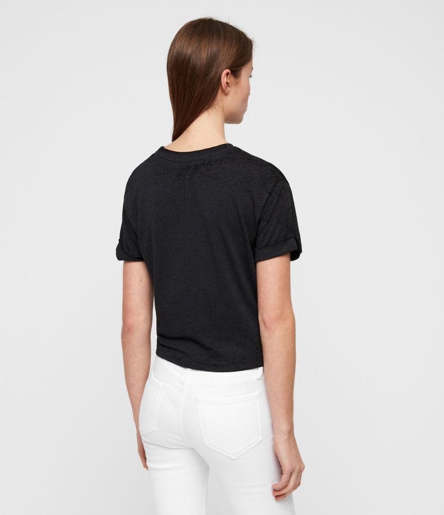 Women's Carme Devo T-Shirt (dark_night_blue) - Image 5