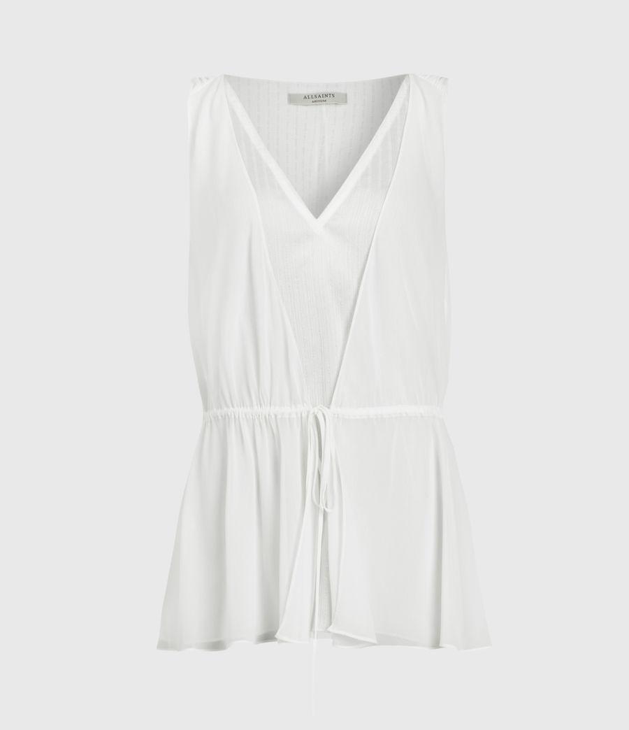 Femmes Celeste Top (chalk_white) - Image 1