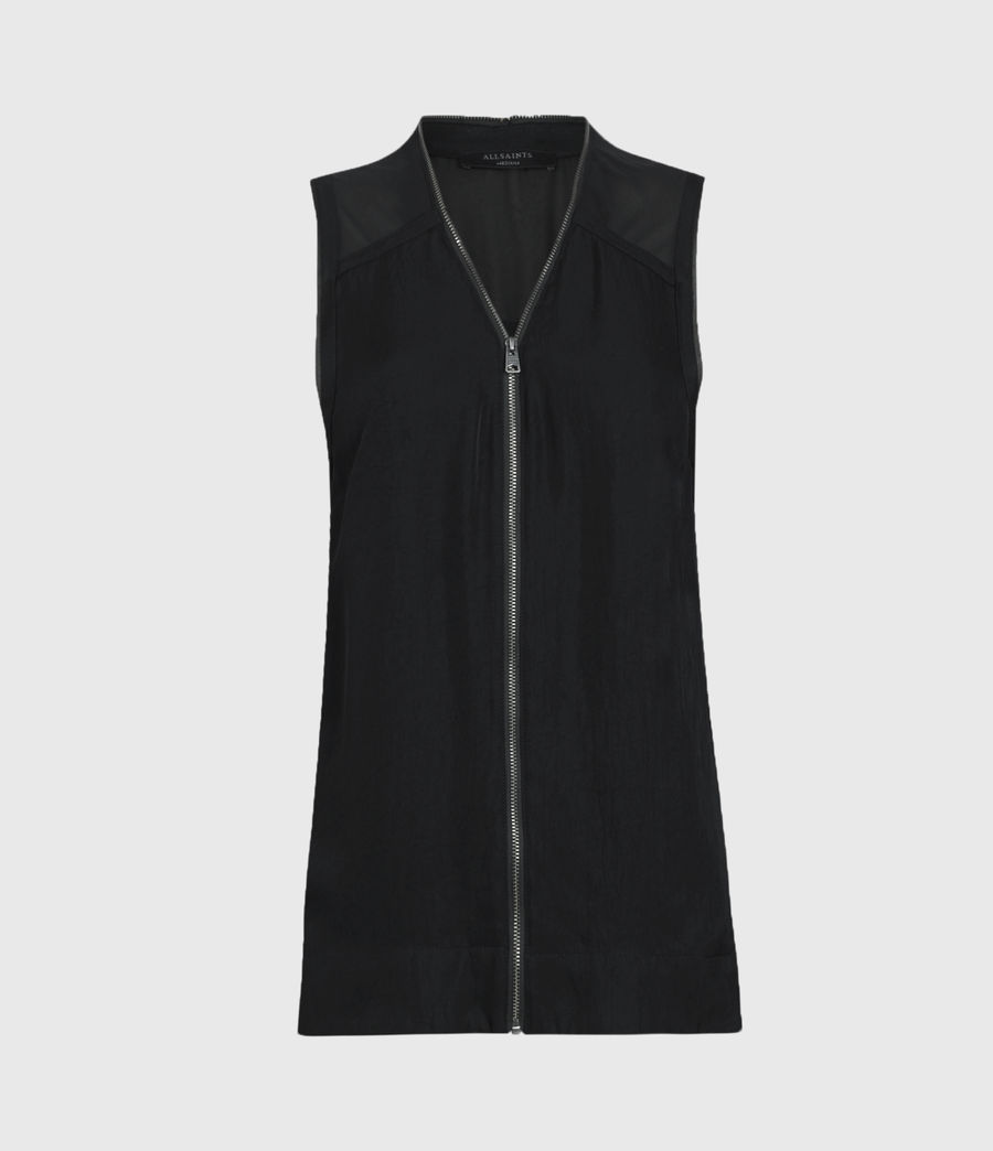 Womens Lottie Top (black) - Image 2