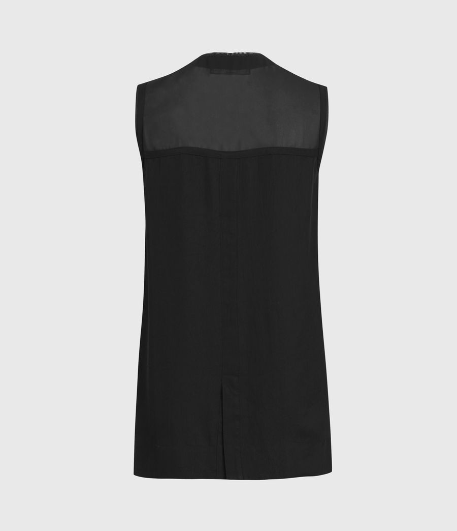 Womens Lottie Top (black) - Image 3