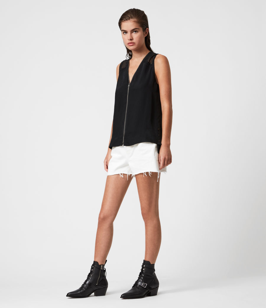 Womens Lottie Top (black) - Image 4