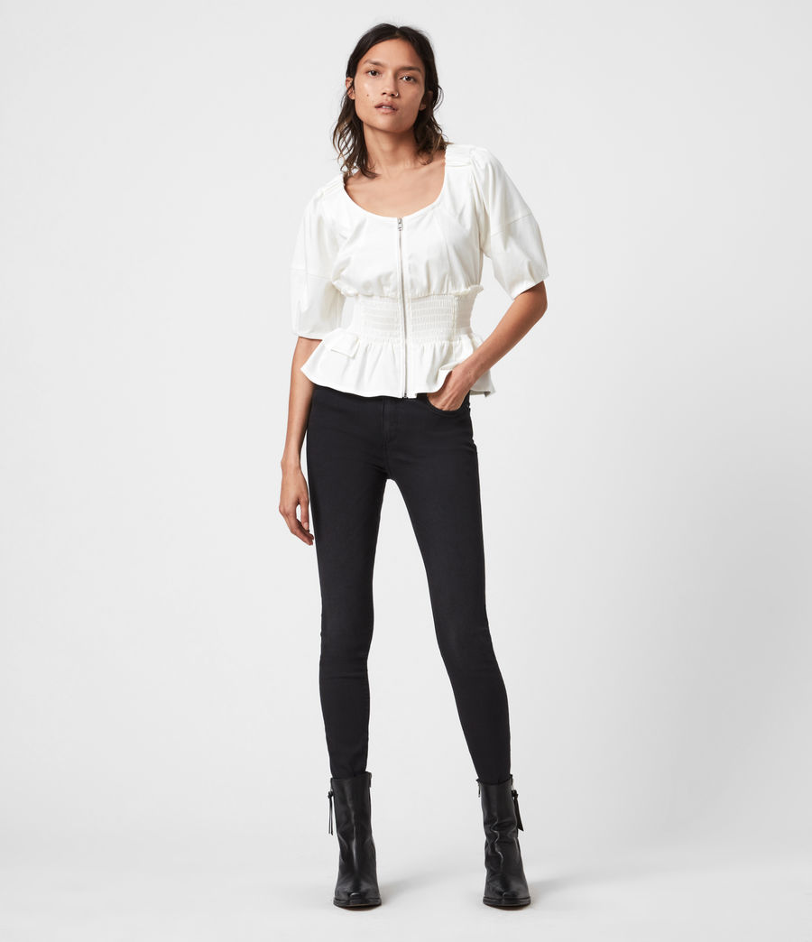 Mujer Elektra Top (white) - Image 4