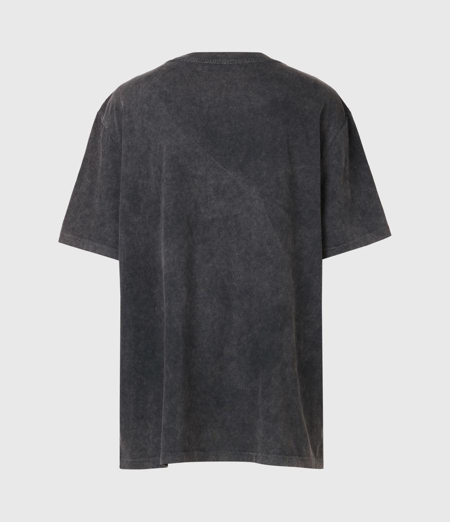 Womens Celeste Scorpion Mila T-Shirt (acid_washed_black) - Image 3