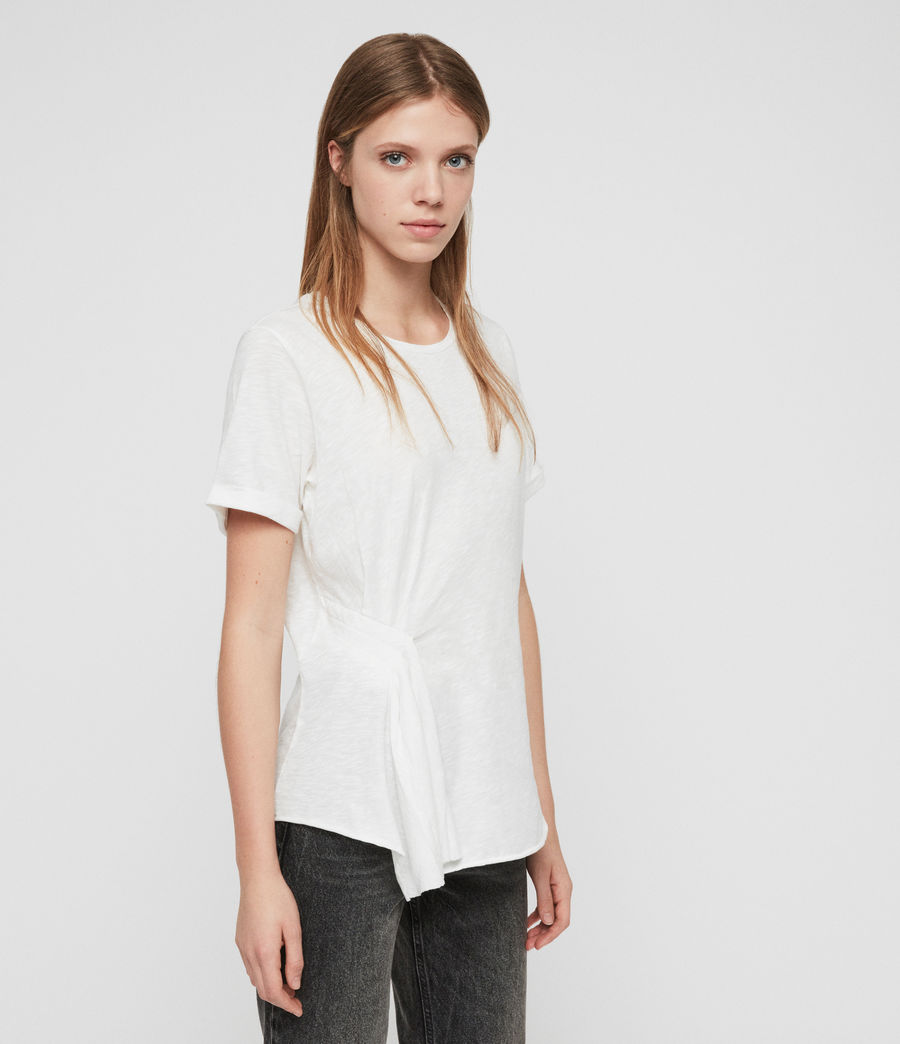 Women's Robi T-Shirt (chalk_white) - Image 3