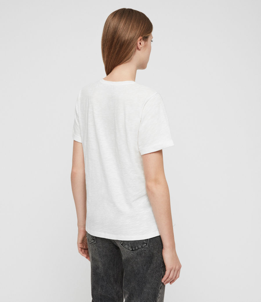 Women's Robi T-Shirt (chalk_white) - Image 5