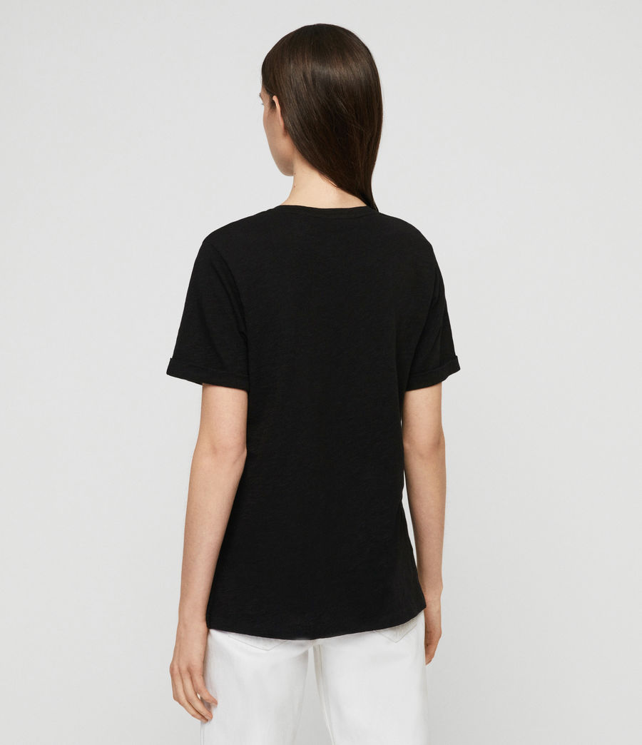 Women's Robi T-Shirt (black) - Image 4