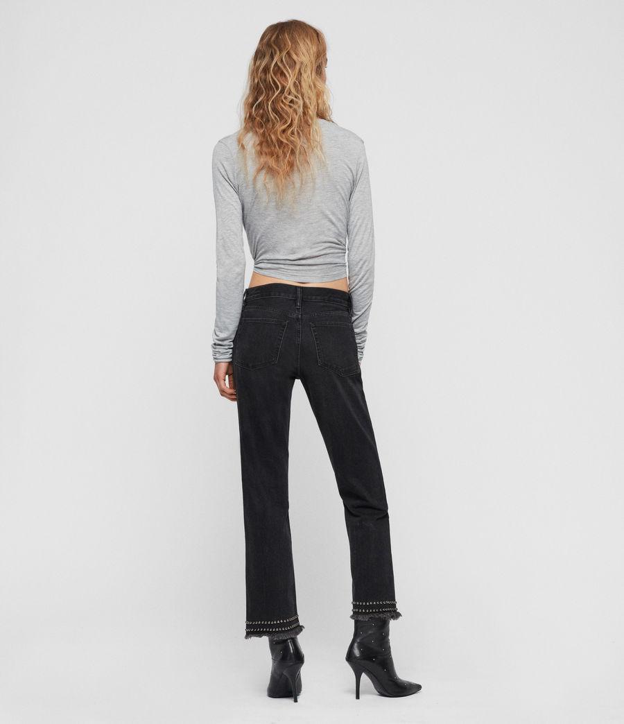 Damen Carmo Tie T-Shirt (grey_marl) - Image 5