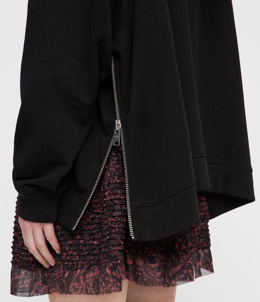 Damen Bella Kapuzenpullover (black) - Image 2