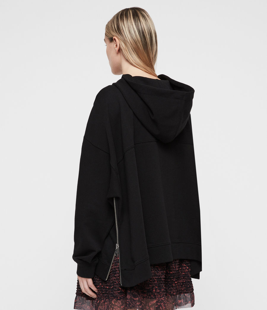 Damen Bella Kapuzenpullover (black) - Image 6