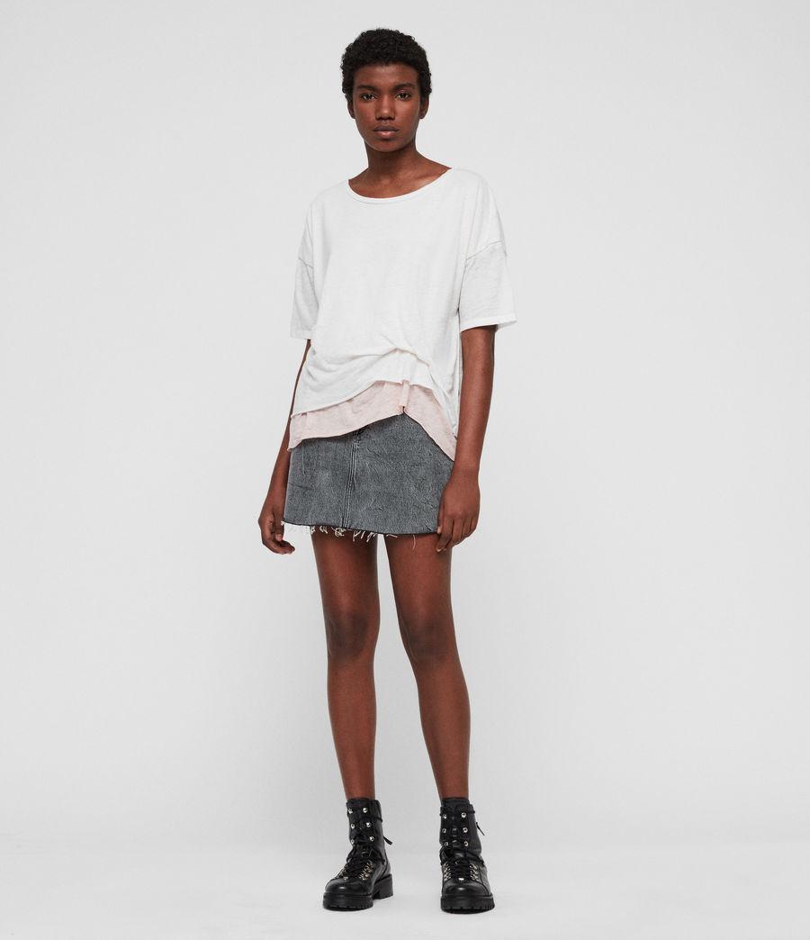 Femmes T-Shirt Bev (smogwhite_camipink) - Image 3