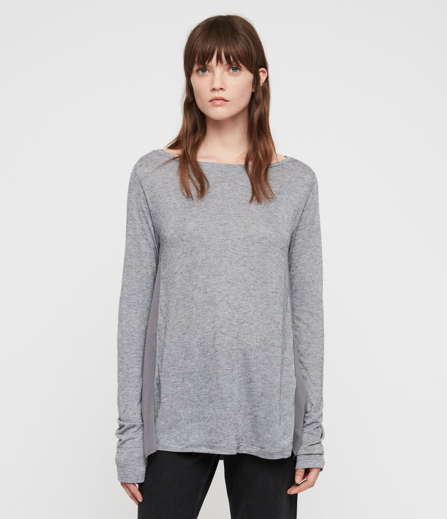 Women's Musson T-Shirt (grey_marl) - Image 1