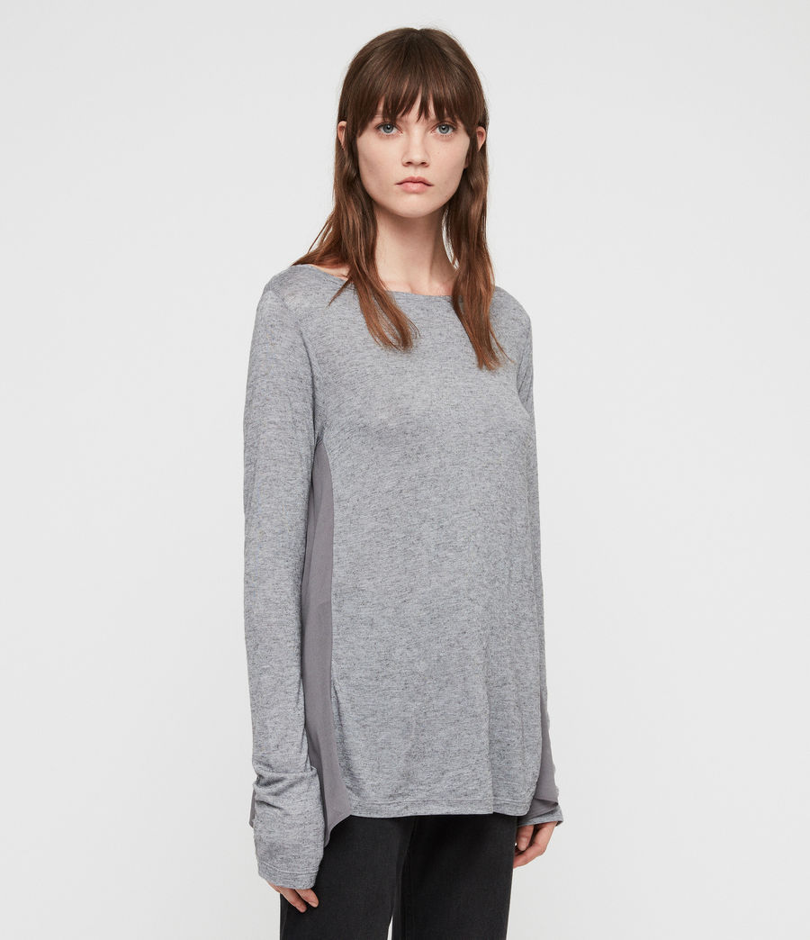 Women's Musson T-Shirt (grey_marl) - Image 4