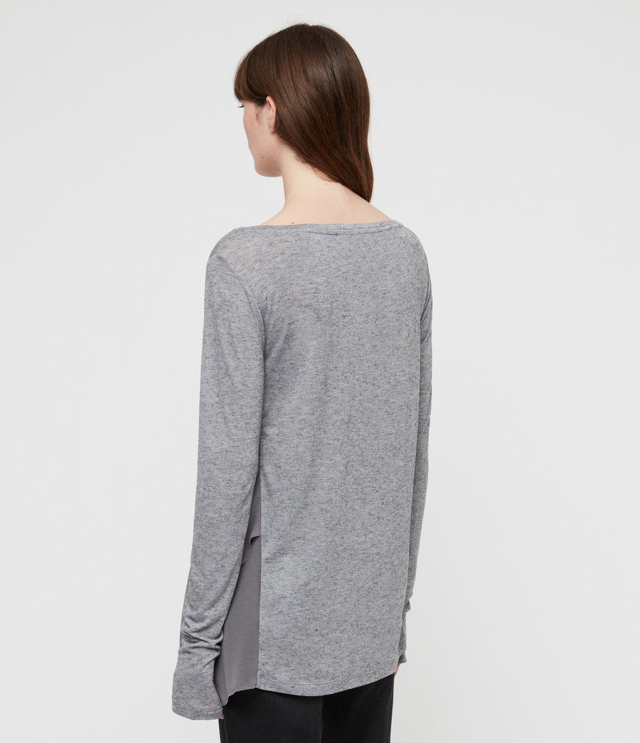 Women's Musson T-Shirt (grey_marl) - Image 5
