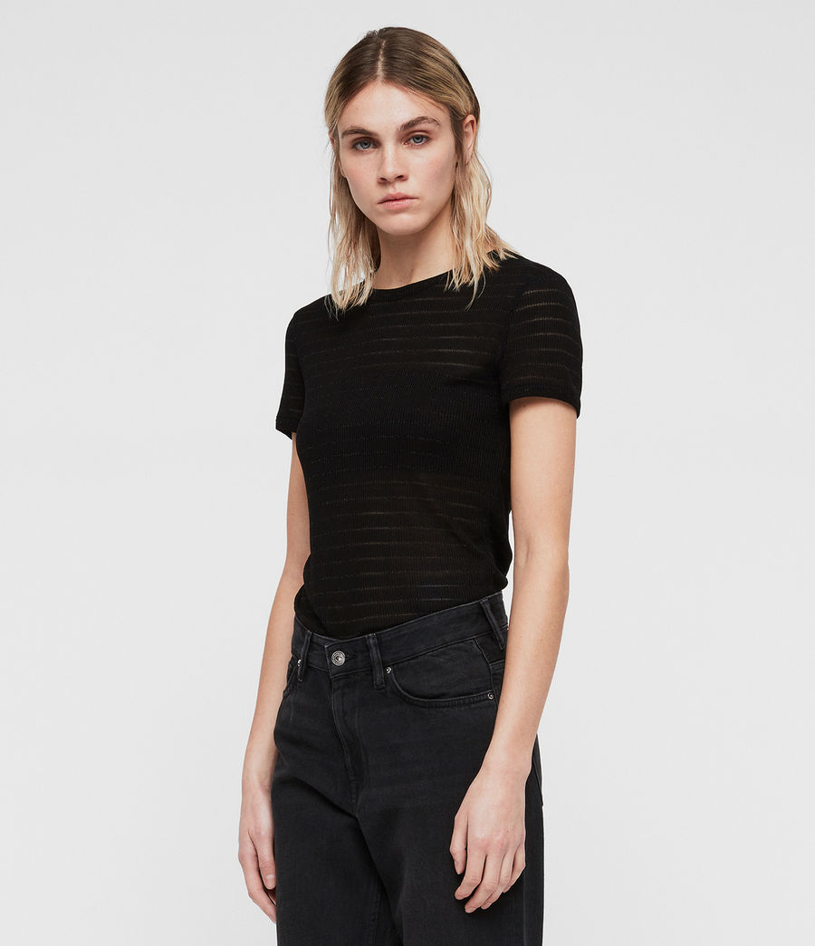 Women's Nicky Zandy T-Shirt (black) - Image 3