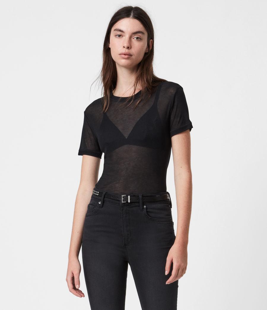 Womens Francesco Short Sleeve 3 Pack T-Shirts (multi) - Image 2