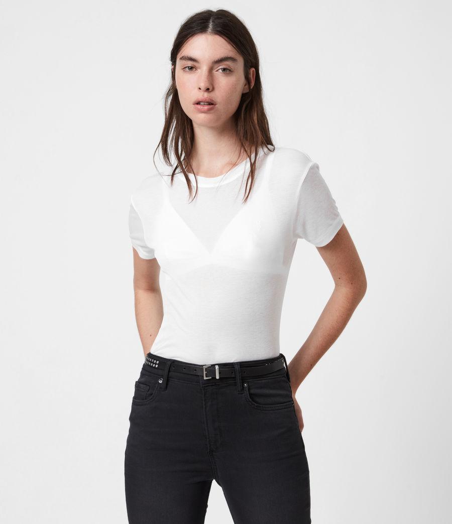 Womens Francesco Short Sleeve 3 Pack T-Shirts (multi) - Image 3