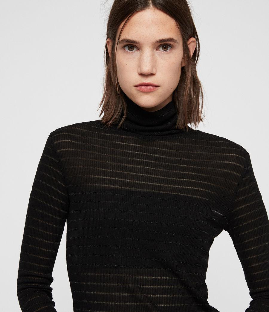 Damen Esme Zandy Rollkragenpullover (black) - Image 2