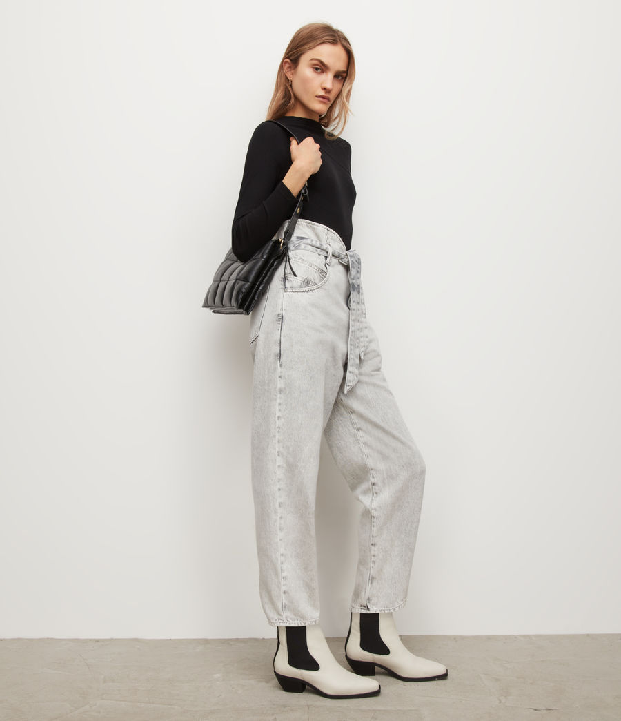Womens Gia Bodysuit (black) - Image 4