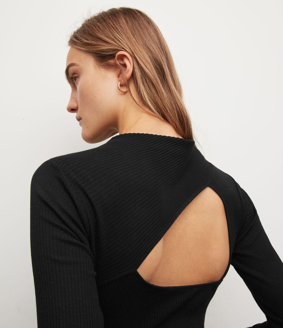 Womens Gia Bodysuit (black) - Image 5