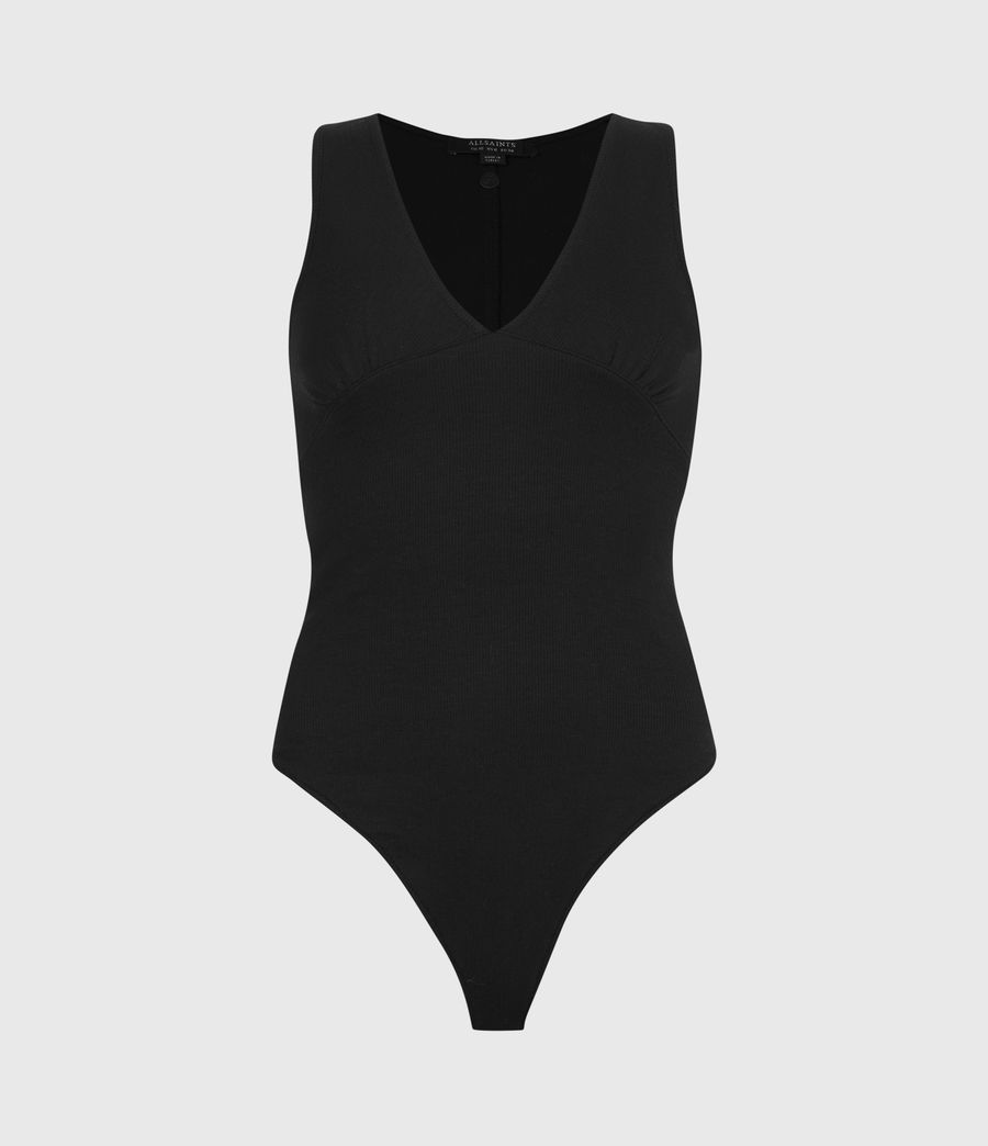 Women's Lodi Bodysuit (black) - Image 2