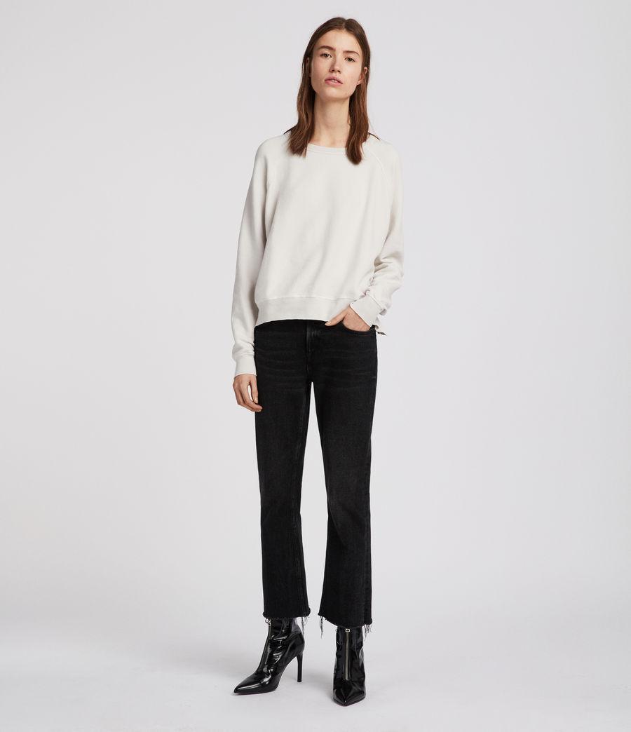 Women's Mila Raglan Sweatshirt (ivory_white) - Image 1