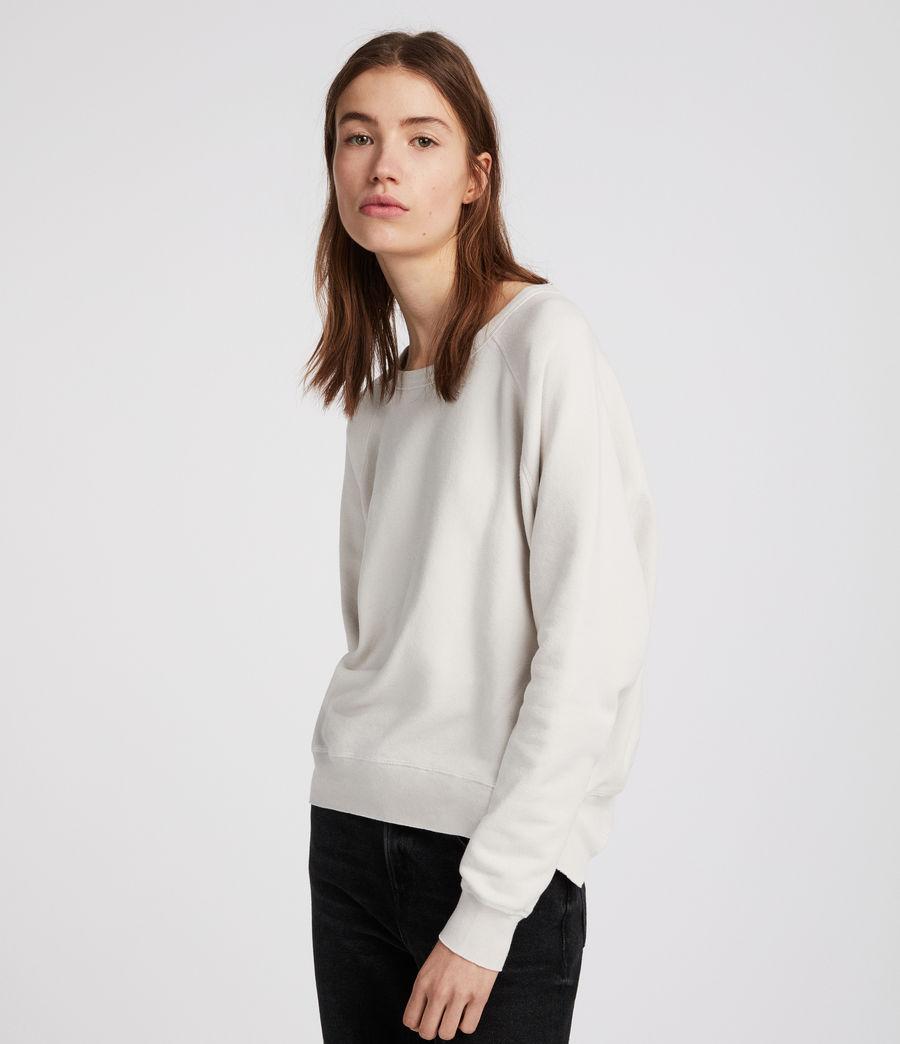 Women's Mila Raglan Sweatshirt (ivory_white) - Image 2